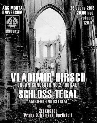 "Vladimír Hirsch - Organ Concerto No.2 ""Horae""op.90at Žižkostel, Prague, Czechia. #prague #czechia #posters #flyers #music #vladimirhirsch"