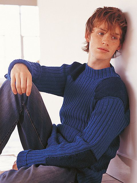 Let's Take a Moment to Relive Eddie Redmayne's Early Career as a Knitwear Model