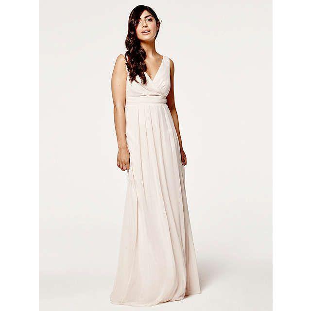 BuyMaids to Measure Lisette Floaty Dress, Cream Soda, 8 Online at johnlewis.com