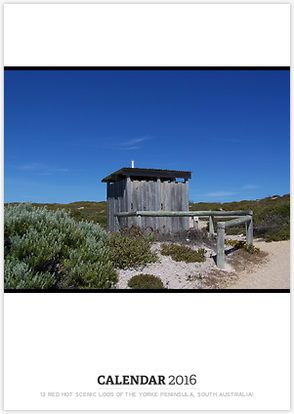13 Red HOT Scenic Loos of the Yorke Peninsula, South Australia! Get the Calendar NOW!