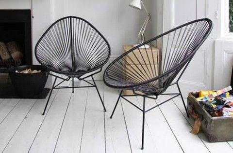 Sillas de Hierro recuperadas: Muebles estilo Retro
