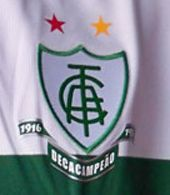 América Futebol Clube  Brazil  Goalkeeper jersey. Team usually known as América Mineiro or América MG. The club was formed in1912 by the elite of Minas Gerais. It has won several Brazilian secondary league titles