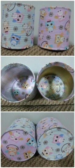 Latas recicladas, reciclagem, artesanato, handmade, reuse, recycle