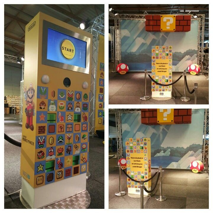 #Nintendo #Facts #Fotozuil #photobooth #Belgie #Beurs #GIF #MP4 #fotomarketing