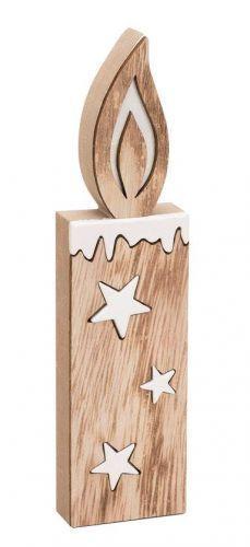 Deko-Holz-Kerze, Natur-Weiß Weihnachten weihnachtliche Deko EUR 5,49. Deko-Holz-Kerze, Natur-Weiß Weihnachten weihnachtliche Deko Inhalt: 1 StÜck, B: 5,5 cm, H: 22 cm, T: 2 cm, Material: MDF-Holz Produktinfo: Inhalt 1 StÜck Breite 5,5 cm Höhe 22 cm Tiefe 2 cm Material MDF-Holz Produktinfo: Inhalt 1 StÜck Breite 5,5 cm Höhe 22 cm Tiefe 2 cm Material MDF-Holz Schöne Deko-Holz-Kerze für winterliche Dekorationen. Die Maße der Kerze betragen ca. 22 x 5,5 x 2 cm. Formschöne MDF-Kerze mit…