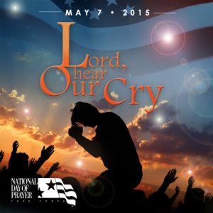 May 7th is National Day of Prayer 2015 - SPREAD THE WORD! http://www.missionariesofprayer.org/2015/04/national-day-of-prayer-2015/