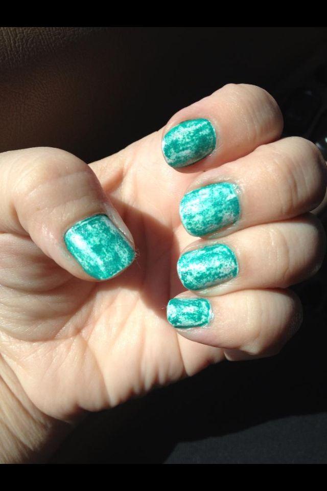 ski's diy nail art