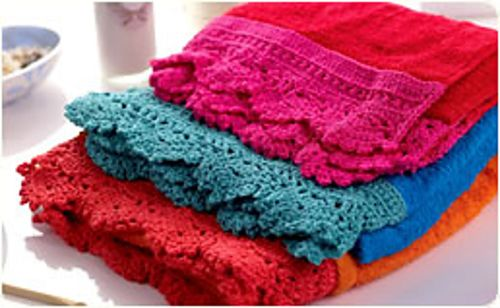 97 Best Knitted And Crochet Edgings Images On Pinterest Crochet
