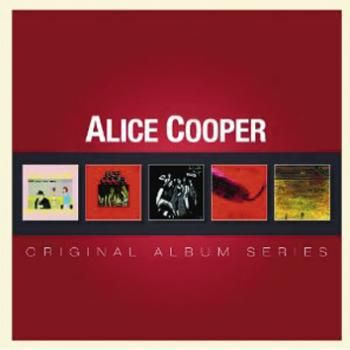 "Cofanetto contenente 5 album di #AliceCooper: ""Pretties for you"", ""Easy action"", ""Love it to death"", ""Killer"" e ""School's out""."