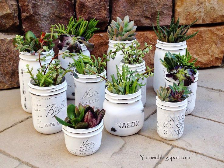 #Ball Jar DIY Succulents