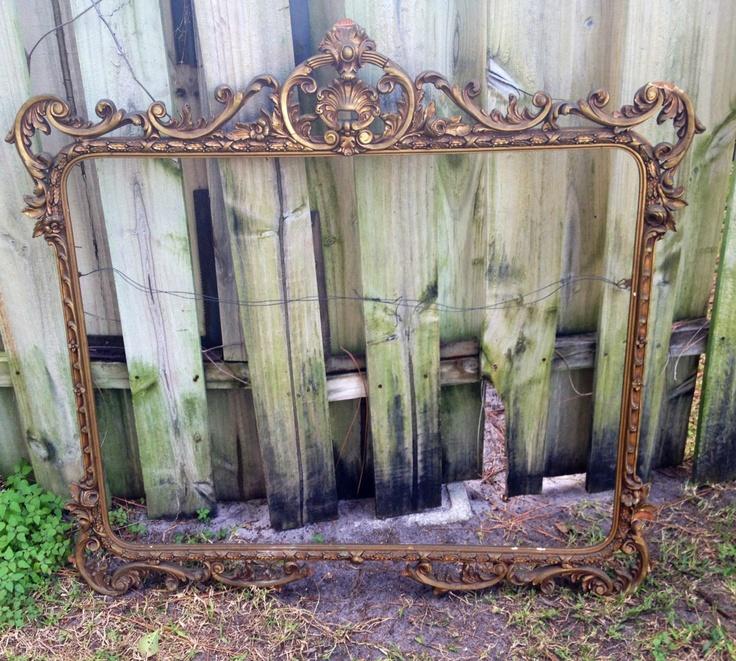 Antique Picture Frame. $225.00, via Etsy.