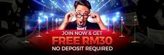 Have you play Online Casino before? SPADE88 is giving away MYR 30 to all new register member.