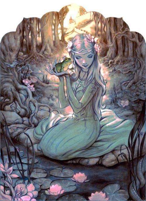 fairytalescrapbook:    Princess and the Frog  enchantedsleeper:    James Jean
