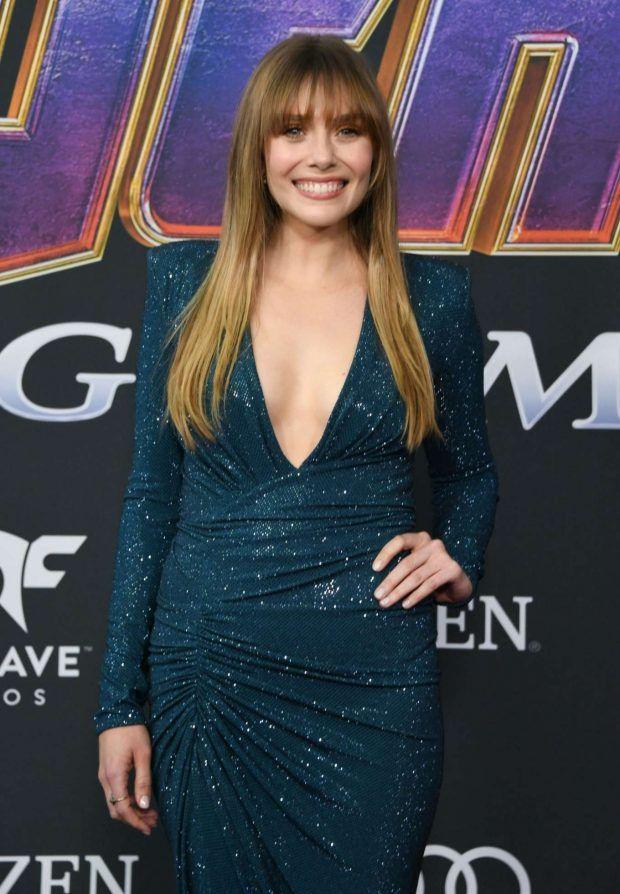 Photos Elizabeth Olsen Avengers Endgame Premiere In Los Angeles Elizabeth Olsen Olsen Celebrities