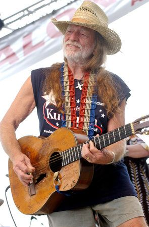 Willy Nelson---My man! I have loved this guy since I was a kid!
