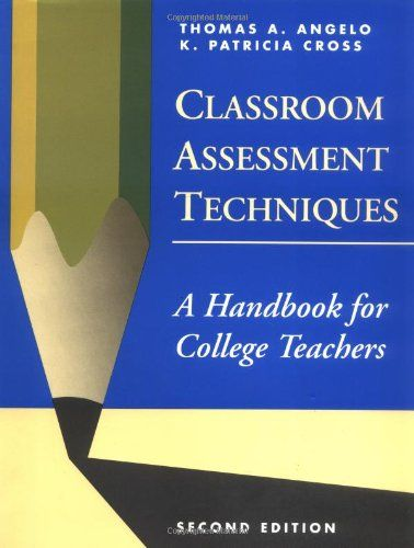 A classic resource on designing low-stakes assessments in the context of classroom learning experiences.  Classroom Assessment Techniques: A Handbook for College Teachers by Thomas A. Angelo http://www.amazon.ca/dp/1555425003/ref=cm_sw_r_pi_dp_gb8vub1GRCG85