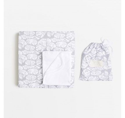Forest Frolic Bassinet Sheet Set from Wilson & Frenchy's AW16 collection, available from Baby Dino here: http://www.babydino.com.au/shop-by-collection/wilson-frenchy-aw16.html