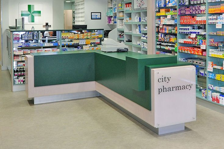 drug store layout Planning and building storage facilities figure 42-3 options for layout of store aisles 4212 with a secure cupboard or safe for controlled drugs.