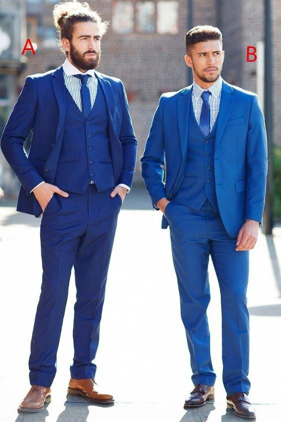 99b7e6dd5b1f 2017 Latest Coat Pant Designs Navy Blue Wedding Men Suit Slim Fit 3 Piece  Tuxedo Custom