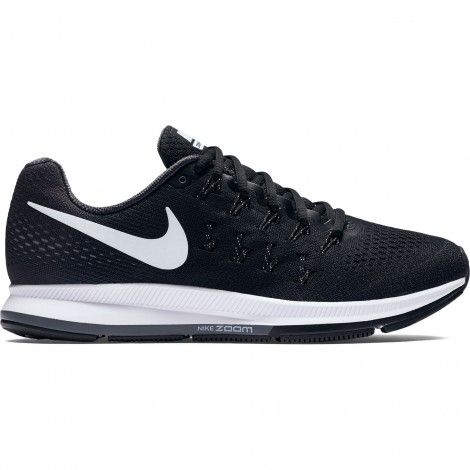 Nike Air Zoom Pegasus 33 831352 hardloopschoenen heren black white anthracite cool grey