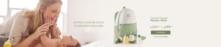 Mamãe e Bebê - Super Promoção e vem com uma mochila linda!