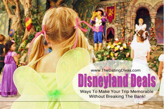 {Disneyland Deals} Tips & tricks to make your Disneyland trip memorable withOUT breaking the bank!!  www.thedatingdivas.com #Disneyland #Deals