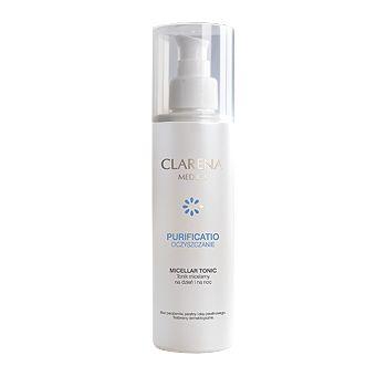 Tonik Micelarny polecany w szczególności dla skóry problematycznej. Tonik doskonale oczyszcza pory skórne, usuwa zanieczyszczenia, tłuszcz, pot i makijaż oraz przywraca naturalne ph. Dzięki zawartości Alantoiny i D-pantenolu tonik ma działanie łagodzące, zmniejsza zaczerwienienie i podrażnienie. Calmosensine® jest niezwykle specyficznym składnikiem, który stymuluje skórę pobudzając komórki nerwowe do uwalniania neuroprzekaźników wyciszających i relaksujących nawet najbardziej wrażliwą skórę.