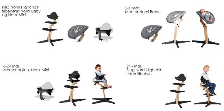 Nomi by evomove koncept from newborn to teenager, baby, toddler,