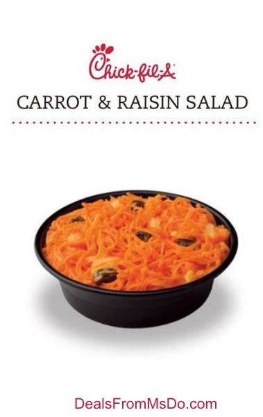 This is the real deal, not a copycat recipe. The Chick-Fil-A Carrot and Raisin Salad Recipe was shared with me as a member of the Chick-Fil-A Mom's Club.
