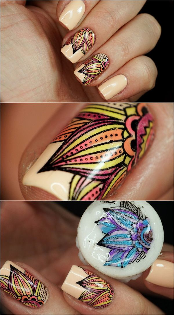 328 best Nail art stamp images on Pinterest | Nail stamping, Belle ...