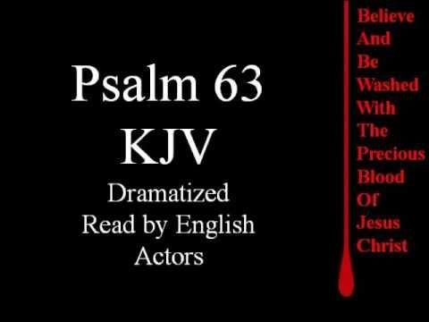 Psalm 63 KJV