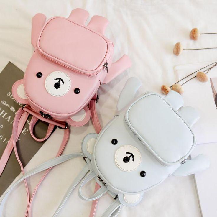 "Cute kawaii cartoon bear backpack SE10402 Coupon code ""cutekawaii"" for 10% off"