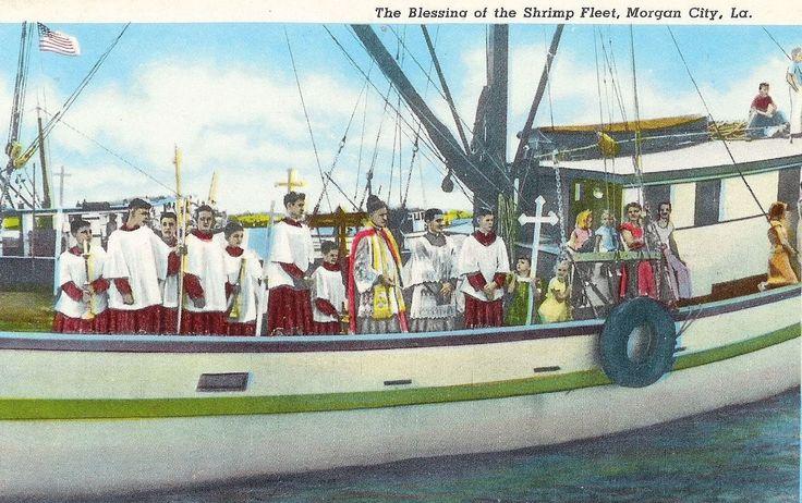 Blessing of the Shrimp Fleet, LA. New Orlean City of