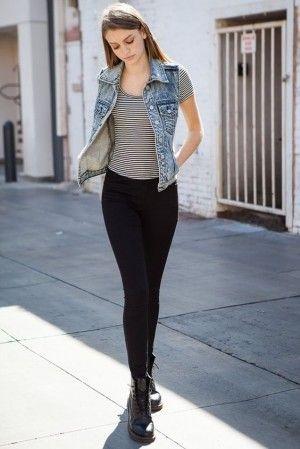 mezclilla outfit
