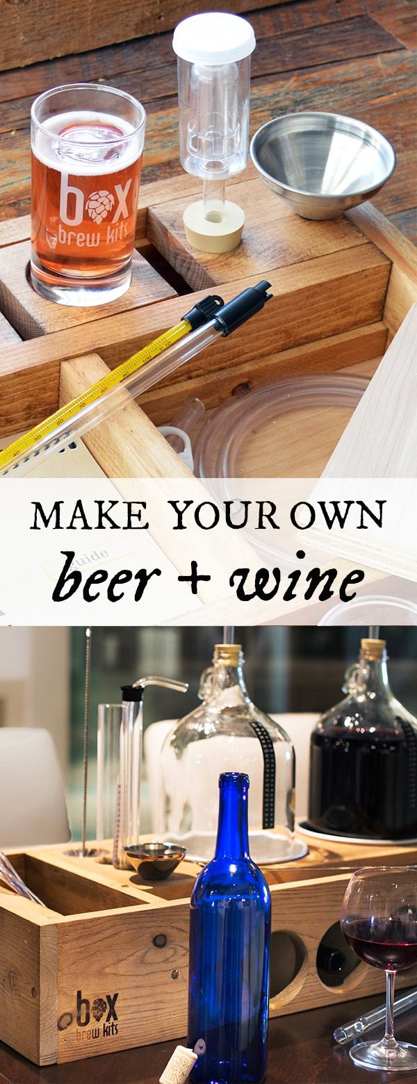 Confidently brew your own beer, wine, or kombucha from start to finish. These rustic, Made in the USA homebrew kits are a beautiful induction into the art of homemade spirits.