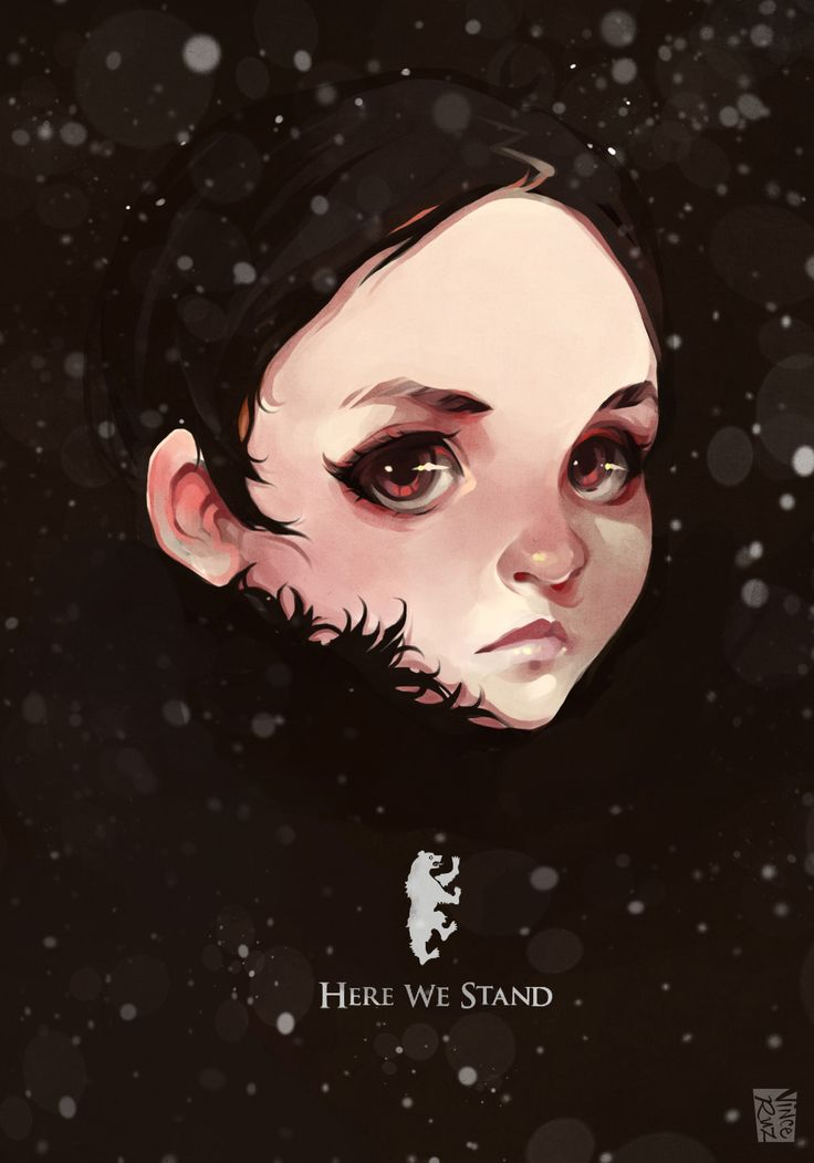 Lyanna Mormont, Vince Ruz on ArtStation at https://www.artstation.com/artwork/DE66o