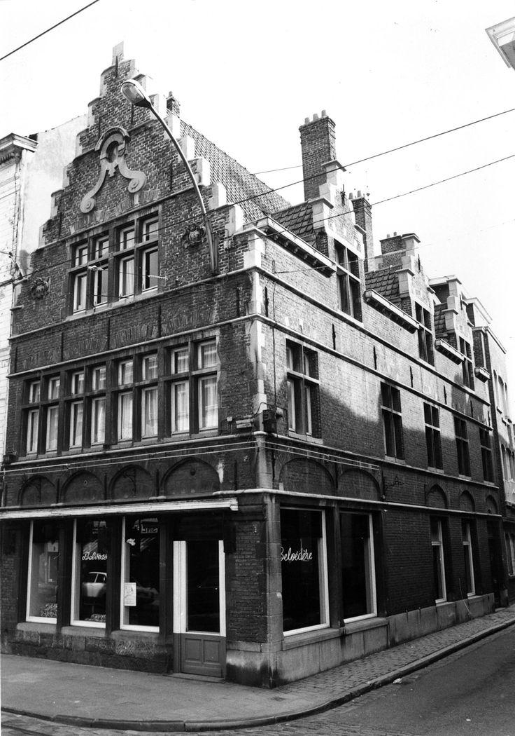 Gent - hoek Ramen-Burgstraat 1970