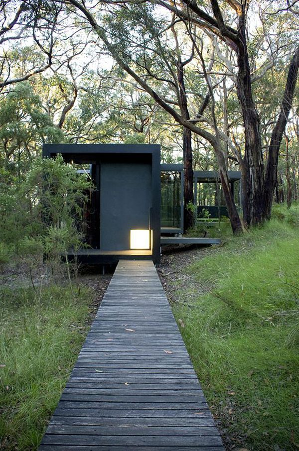 Living in the woods - Red Hill House by David Luck Architecture