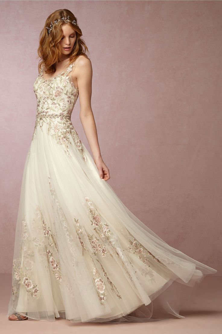 BHLDN Heidi Gown in  Bride Wedding Dresses at BHLDN - *sigh* of course I love this, it's ridiculously expensive