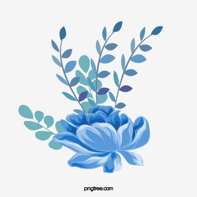 Dibujado A Mano Dibujos Animados Flores Azules Ilustracion Azul Flor Exquisito Png Y Psd Para Descargar Gratis Pngtree Ilustracion De Flor Flores De Dibujos Animados Flores Azules