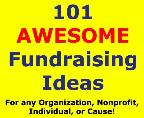 Want 101 fundraising ideas that will absolutely provide you with the fundraisers you need to succeed?! Yes, then take a look here: www.rewarding-fundraising-ideas.com/101-fundraising-ideas.html