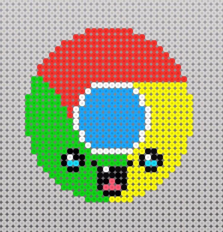 Patrón google kawaii.