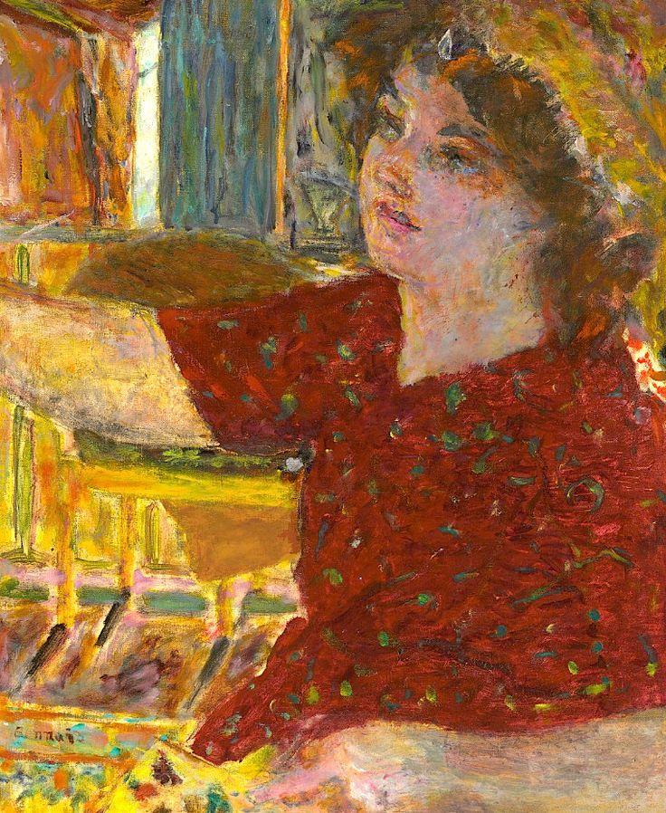 Pierre Bonnard - Jeune Femme Peignant, 1944