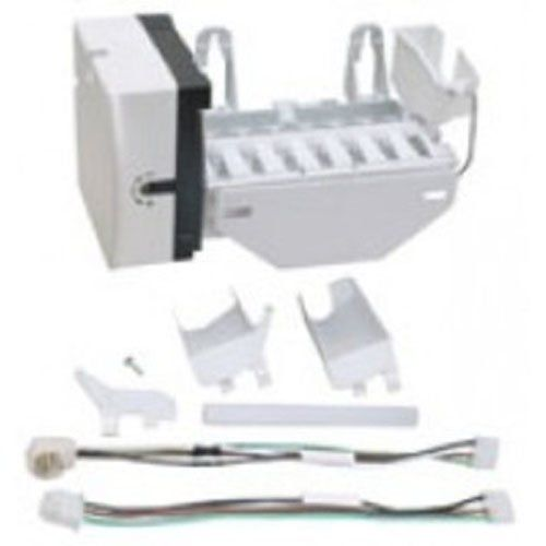 Kenmore Replacement Refrigerator / Freezer Ice Maker WR30X0214 This is a Brand New Replacement Refrigerator Ice Maker. Univeral Design and Easy Installation Make this a Top Qualty Replacement Part!. Comes with all hardware you may or may not need to install!.  #ReplacementForKenmore #BISS