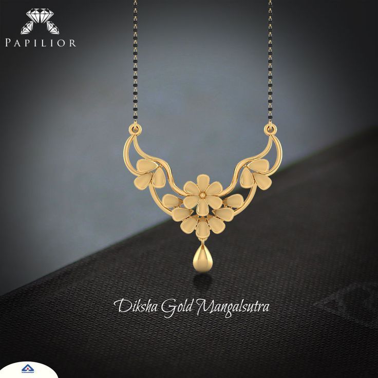 """""""Glistening #gold is the way to go, summer shopping has really just begun...""""   #goldmangalsutra #lightweightmangalsutra #workwearstyle #goldjewelery #shopping"""