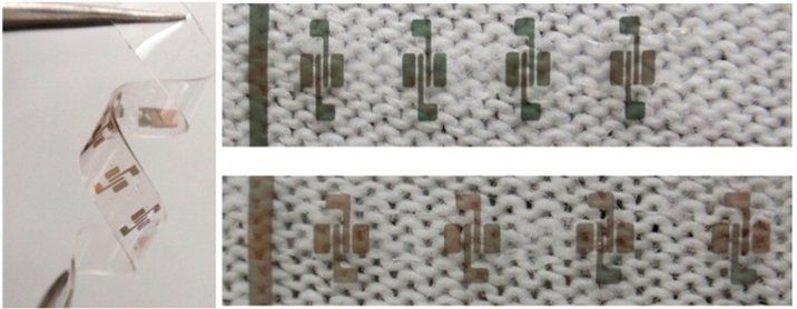 Carbon nanotube based transistors embedded in textiles can roll, bend, and stretch #carbonnanotube #nanotech #transistors #textiles #clothing #electronics #flexibleelectronics #nanotechnology #carbonnanotubes #nanotubes #tech #technology #science #cool #awesome #futuretrends