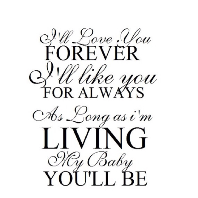 I Love You Forever I Like You For Always Quote Amazing 19 Best Robert Munsch Images On Pinterest  Book Activities