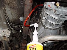 How to change your transmission fluid.