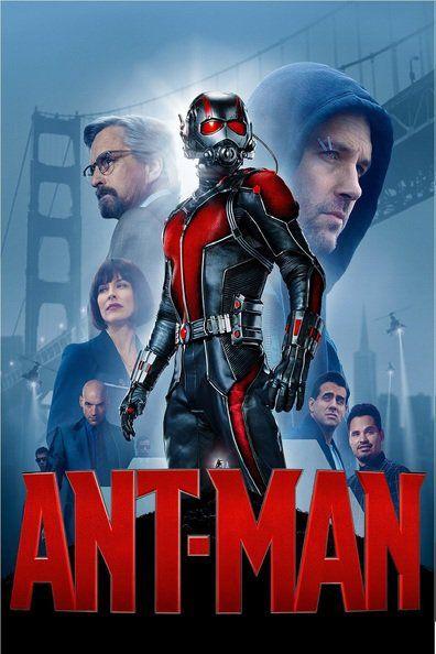 Ant-Man (2015) Scott Lang, un avezado ladrón sacará a la luz el héroe que lleva dentro para ayudar a su mentor, el Dr. Hank Pym, a proteger el secreto que esconde su espectacular traje de hombre-hormiga de una nueva generación de peligrosas amenazas. Dotado con la fascinante habilidad para encoger de tamaño pero aumentar la fuerza y a pesar de los obstáculos que parecían invencibles, Lang ayudará a Pym a planear y llevar a cabo un atraco que salvará al mundo.