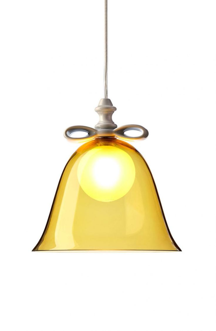 Bell Lamp Amber by Marcel Wanders - http://www.moooi.com/products/bell-lamp